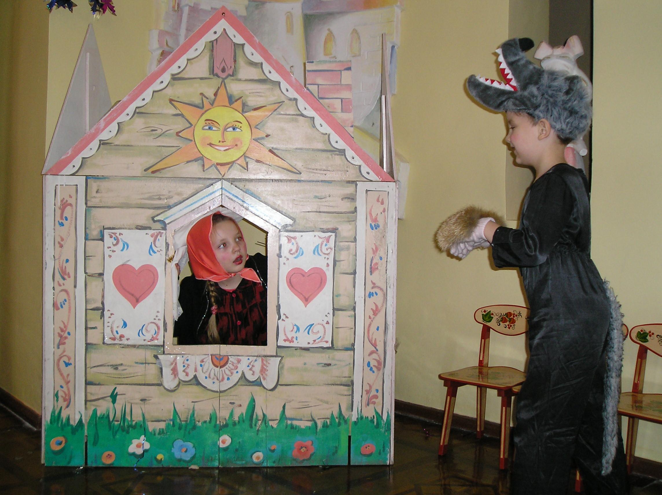 Как сделать театр своими руками дома фото